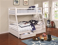 Coaster 460180 TWIN/FULL BUNK BED