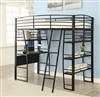 Florida Zone Item-Coaster 461082 TWIN WORKSTATION BED