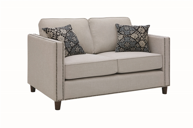 Florida Zone Item-Coaster 506252 LOVESEAT