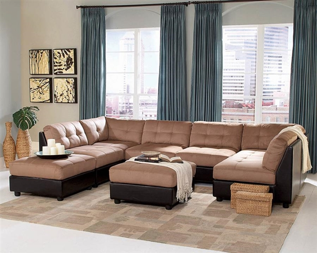 Atlanta Zone Item-Coaster 551002 Sectional