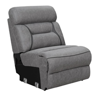 Coaster ARMLESS CHAIR   GREY