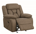 New Jersey Zone Item-Coaster 602266 GLIDER RECLINER