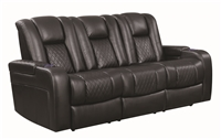 Florida Zone Item-Coaster 602301P POWER MOTION SOFA