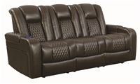 Florida Zone Item-Coaster 602304P POWER MOTION SOFA