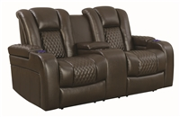Los Angeles-CA Zone Item-Coaster 602305P POWER MOTION LOVESEAT