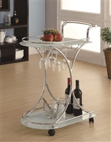 Coaster 910002 SERVING CART
