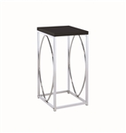 Coaster ACCENT TABLE (GLOSSY BLACK)
