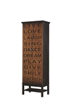 Atlanta Zone Item-Coaster 950731 ACCENT CABINET
