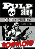 001-DC - PULP ALLEY CORE RULES: SECOND EDITION (DOWNLOAD)
