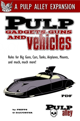 1103 - PULP GADGETS, GUNS, & VEHICLES - DC