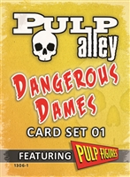 1306-1 - Dangerous Dames Card Set 01