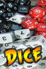 1350 - Pulp Alley Dice Set