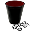 1361 - Dice Cup with Sticker