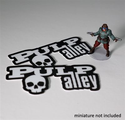 1365 - Pulp Alley Logo Stickers (2)