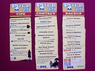 1372 - Backup & Contacts Deck ( 45 mini-cards)