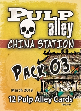 2019-03B - China Station Card Pack #03
