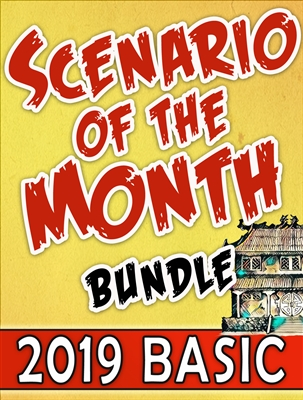 2019-DC - SCENARIO OF THE MONTH BUNDLE 2019: BASIC