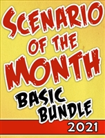 2021-DC - SCENARIO OF THE MONTH BUNDLE 2021: BASIC