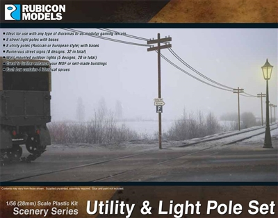 283004 - 28mm Utility & Light Pole Set