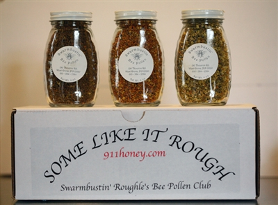 Bee Pollen Sampler - Gift Boxed