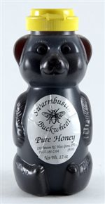Buckwheat Honey - 12 oz. Honey Bear