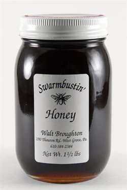 Fall Wildflower Honey - 1.5 lb. Pint