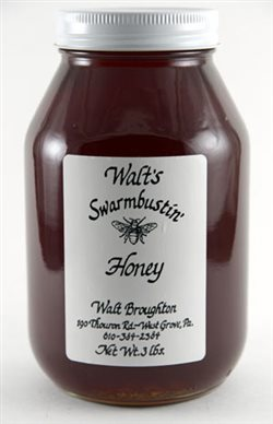 Fall Wildflower Honey - 3 lb. Quart
