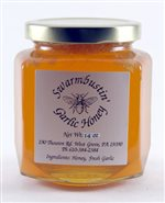 Garlic Honey - 14 oz. Hex Jar