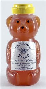 Hot Garlic Honey - 12 oz. Honey Bear