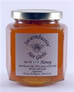 Hot Garlic Honey - 14 oz. Hex Jar