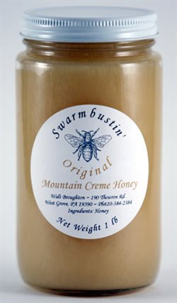 Original Mountain Creme Honey - 1 lb.