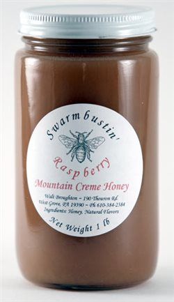 Raspberry Mountain Creme Honey - 1 lb.