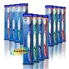 12x Wisdom Addis Smokers Extra Hard Toothbrush