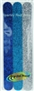 Alida 3 Sparkly Nail Files Blue Silver Pack