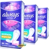 3x Always Dailies Pantyliners Normal Fresh Scent Individually Wrapped