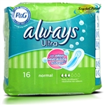 Always Ultra Normal 16 Sanitary Women Comfort Protection Pad