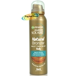 Garnier Ambre Solaire No Streaks Bronzer Intense Self Tanning Body Mist 150ml