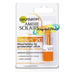 Garnier Ambre Solaire Nourishing Lipstick With UVA & UVB Protection SPF20