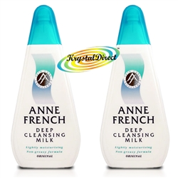 2x Anne French Original Cleansing Milk 200ml