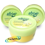 3x Atrixo Enriched Moisturising Hand Cream with Camomile 200ml