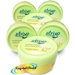 6x Atrixo Enriched Moisturising Hand Cream with Camomile 200ml