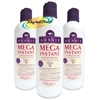 3x Aussie Mega Instant Conditioner  - 250ml