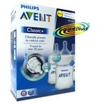 Philips AVENT SCF560/37 Classic+ Feeding Bottles 3 Pack Anti Colic BPA Free 0m+