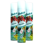 3x Batiste ORIGINAL Dry Shampoo 200ml Instant Hair Refresh