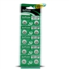 Suncom Alkaline Button Cell Batteries 10- AG1