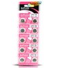 Suncom Alkaline Button Cell Batteries 10 - AG12