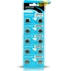 Suncom Alkaline Button Cell Batteries 10 LR44/A76- AG13/1.55V