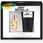 David Beckham Classic Christmas Men Gift Set EDT 40ml And Hair & Body Wash 200ml