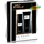 David Beckham Classic Deo Hair & Body Wash Christmas Gift Set For Men