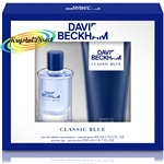 David Beckham Classic Blue 40ml EDT + 200ml Body Wash